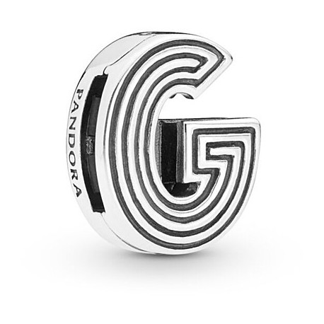charms pandora lettera g