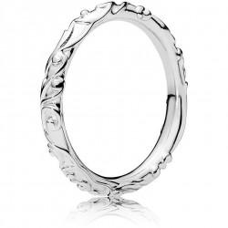 Anello Argento Con Ornamento Vorticoso - Pandora