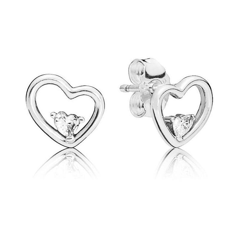 orecchini cuore donna pandora
