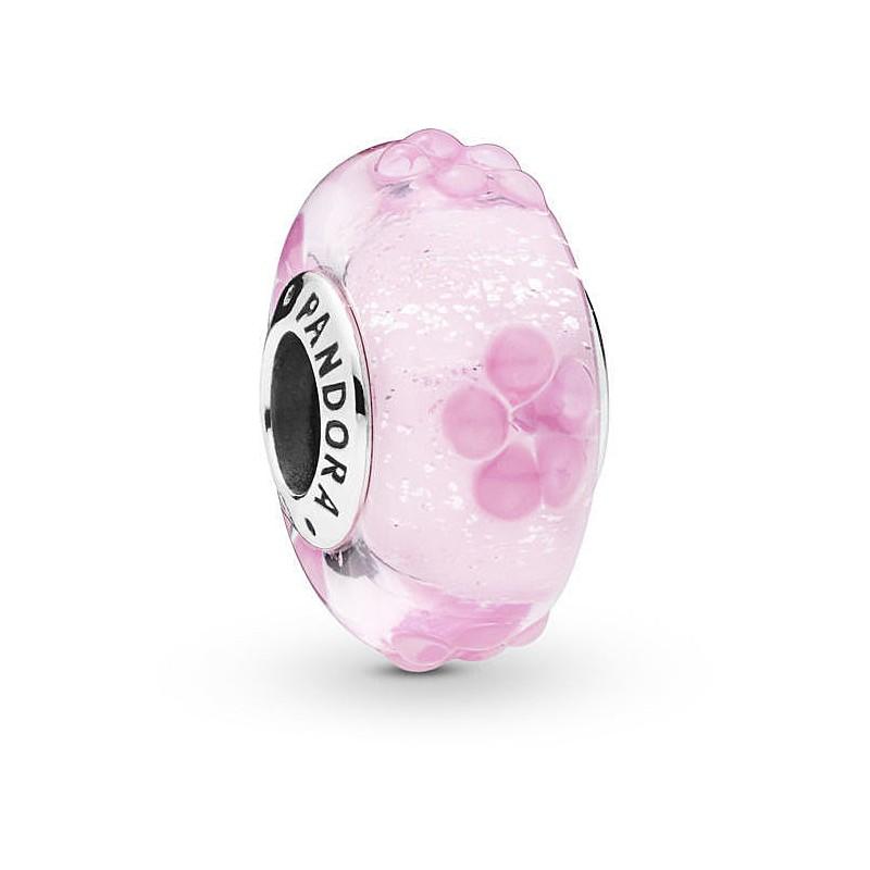 charm pandora rosa originale