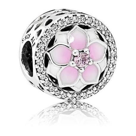 anello pandora fiore di magnolia