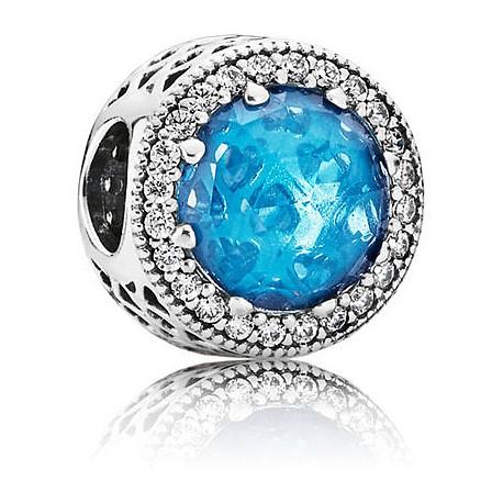 pandora charm azzurro