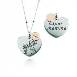 """Collana Donna """"Super Mamma"""" - Feelings"""