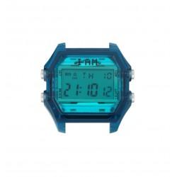 Cassa Uomo Transparent Deep Blue Case + Tiffany Glass - I Am Watch