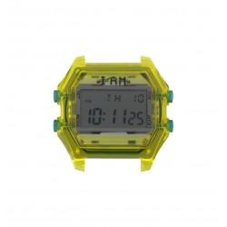 Cassa Uomo Transparent Yellow + Grey Glass - I Am Watch