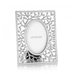 Portafoto in metallo con cristalli - Ottaviani