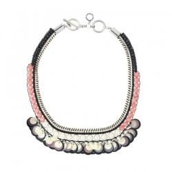 Collana Donna con Perline, Strass, Paillettes, Perle Bijoux - Ottaviani