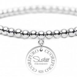 Bracciale Donna Elastico Cerchio della Vita Sister - Cuorepuro