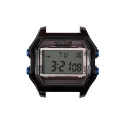 Cassa Large Black Case+Transparent Glass - I Am Watch
