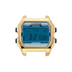 Cassa Large IPG Case+Transparent Light Bloue Glass - I Am Watch