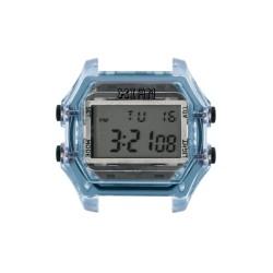 Cassa Large Transparent Light Blue Case+ Transparent Glass - I Am Watch