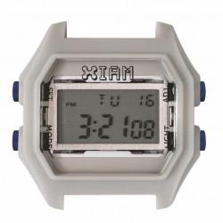 Cassa Small Rubber Gray Case+Transparent Glass - I Am Watch