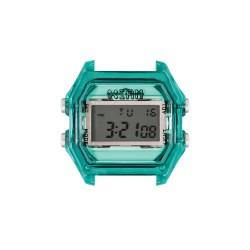 Cassa Small Transparent Green Case+ Transparent Glass - I Am Watch