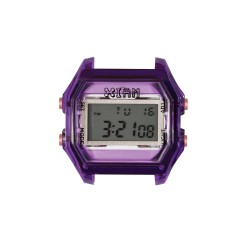 Cassa Small Transparent Purple + Transparent Glass - I Am Watch