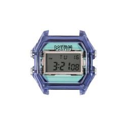 Cassa Small Transparent Violet Case+ Transparent Glass - I Am Watch