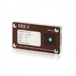 Diamante Blisterato Ct 0,19 GVS - Bibigi