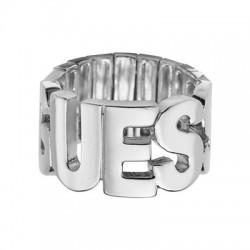 Anello Logo Acciaio Donna - Guess