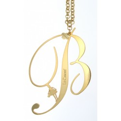 Collana Donna Lettera B Gold - Le Carose