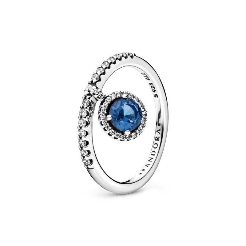 pandora anello blu