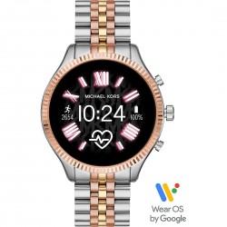 Smartwatch Donna Lexigton2 Bicolore Acciaio Rosè- Michael Kors