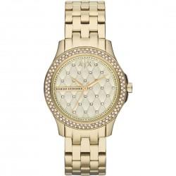Orologio Donna Lady Hampton Solo Tempo Acciaio Dorato - Armani Exchange