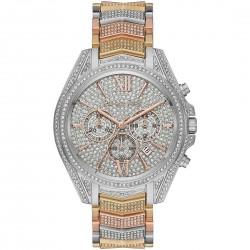 orologio Donna Whitney Pavè Tri Color Crono- Michael Kors