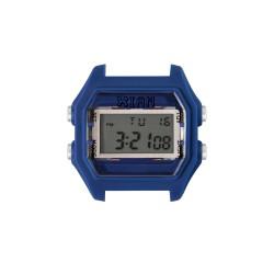 Cassa Small Rubber Deep Blue Case+Transparent Glass - I Am Watch