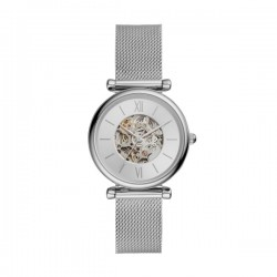 Orologio Donna Carlie Automatico in Acciaio  - Fossil