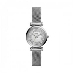 Orologio Donna Carlie Mini Acciaio Solo Tempo - Fossil