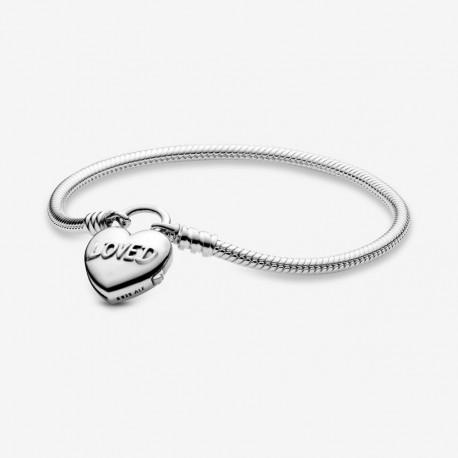 pandora charm cuore pendente e lucchetto
