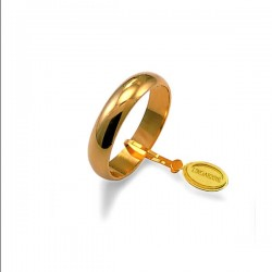 Fede Larga Oro Giallo g.5,00 - Unoaerre