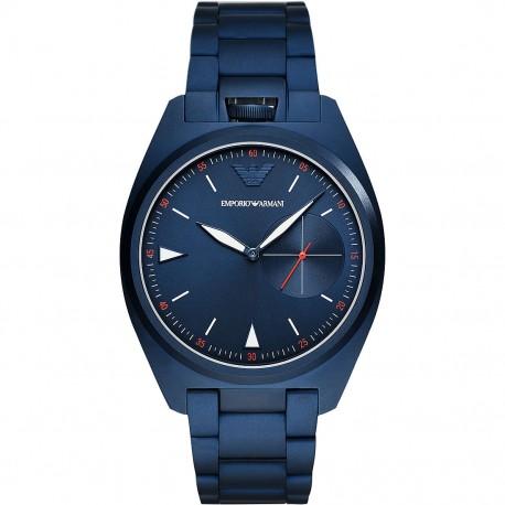 Orologio Uomo Solo Tempo in Acciaio di colore Blu - Emporio Armani