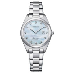 Orologio Donna Solo Tempo Ecodrive in Supertitanio Quadrante Madreperla - Citizen