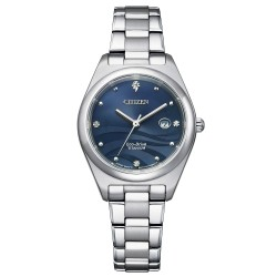 Orologio Donna Solo Tempo Ecodrive in Supertitanio Quadrante Blu - Citizen