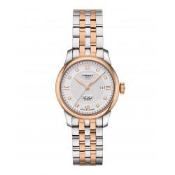 Orologio Donna Le Locle Automatico in Acciaio Bicolore con Diamanti - Tissot