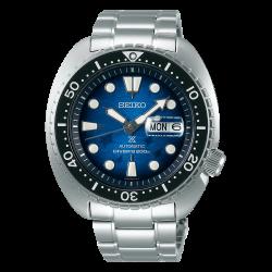 Orologio Uomo Prospex Turtle in Acciaio con Quadrante Blu - Seiko
