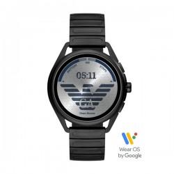 Orologio Smartwatch Uomo in Acciaio Brunito - Emporio Armani
