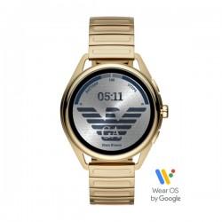 Orologio Smartwatch Uomo in Acciaio Dorato - Emporio Armani
