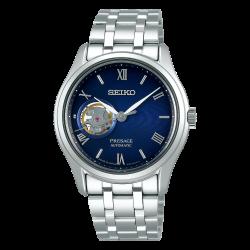 Orologio Presage Automatico in Acciaio Quadrante Nero - Seiko