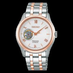 Orologio Presage Automatico in Acciaio Bicolor - Seiko