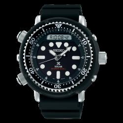 Orologio Uomo Prospex Tuna in Silicone nero con Ghiera Nera - Seiko