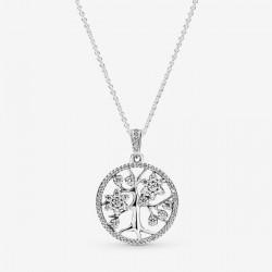 Collana Albero della Famiglia Scintillante - Pandora