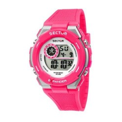 Orologio Donna EX-10 Digitale in Silicone Fucsia- Sector