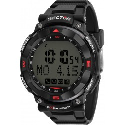 Orologio Uomo Smartwatch in Silicone Nero - Sector