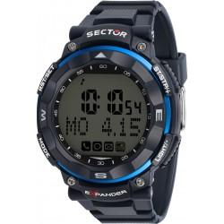Orologio Uomo Smartwatch in Silicone Blu - Sector