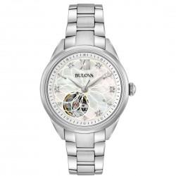 Orologio Donna Automatico Acciaio Diamonds - Bulova