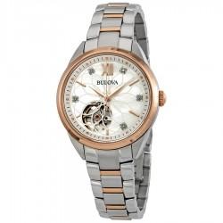 Orologio Donna Automatico Bicolore Diamonds - Bulova
