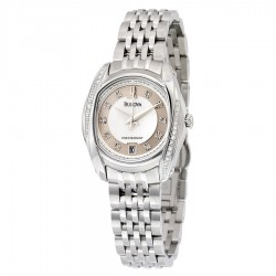 Orologio Donna Precisionist Acciaio e Diamanti - Bulova