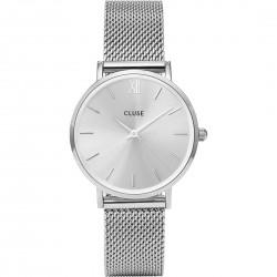 Orologio Donna  Minuit Mesh Full Silver - Cluse
