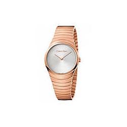 Orologio Whirl Donna Solo Tempo Acciaio Rosè - Calvin Klein
